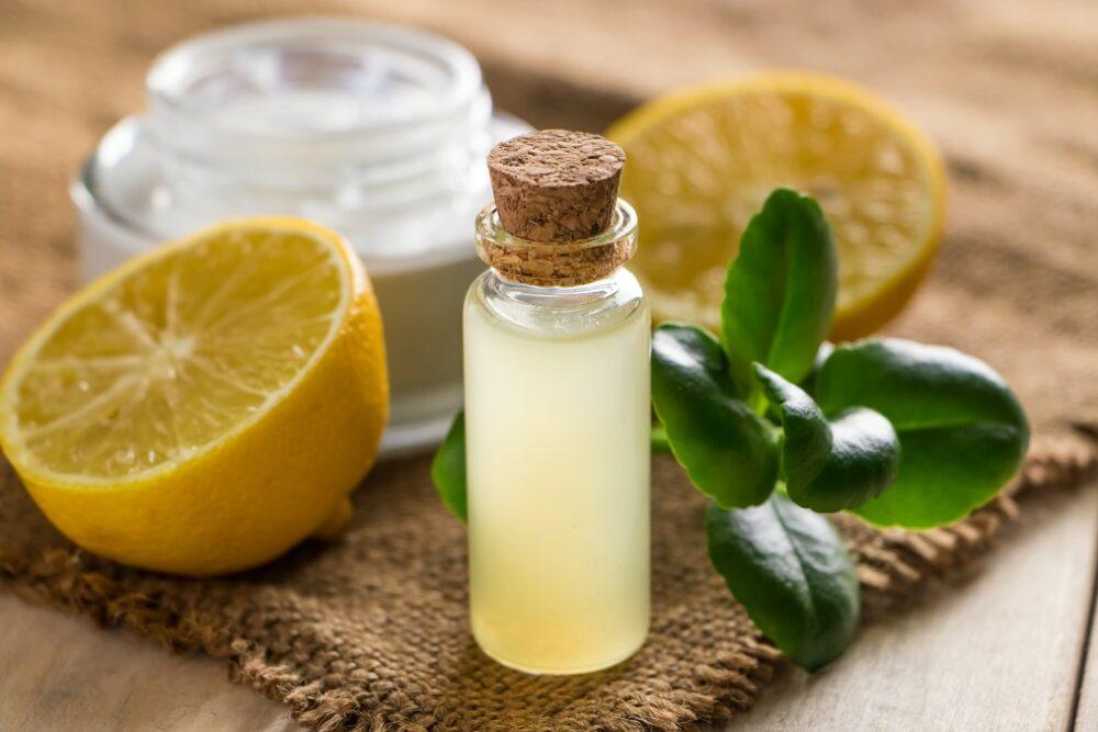 nettoyage avec huile de citron